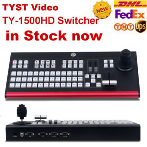TYST TY-1500HD Switcher Control panel of Vmix Embedded Video Recording Equipment