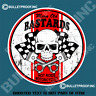 MEAN OLD BASTARDS Decal Sticker Americana Rat Rod Hot Rod Mancave Stickers