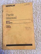 Caterpillar 631C Scrapers Parts Manual