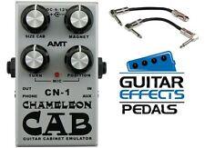 NEW! AMT Electronics CN-1 Chameleon Speaker Cabinet Emulator FREE S&H! 2 CABLES!