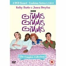 Gimme, Gimme, Gimme: Complete Series 1, 2 & 3 DVD Box Set BBC R4 New & Sealed