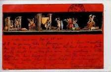 (Gp635-402) Early Cherubs Panel Card, ITALY 1900 Used G-VG