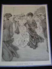 "Antique PRINT ""The Easter Parade on the Boardwalk, ATLANTIC CITY, NJ. c1903"