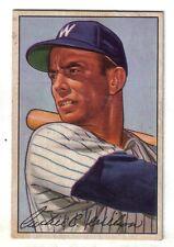 1952 Bowman vintage baseball card #210 Archie Wilson Washington Senators EX+
