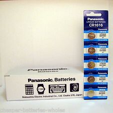 5 PANASONIC CR1616 ECR1616 CR 1616 3v Lithium battery