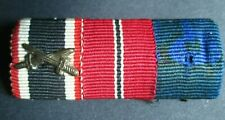 100% Original  WW2 German Soldier Medal bar - Wehrmacht Army badge