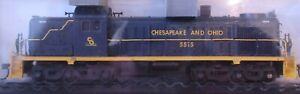 Atlas Classic Gold C&O #5575 HO RSD-4/5 Locomotive, Factory LokSound and DCC