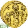 A2148) BYZANZ Heraclius, 610-641 AV-Solidus, 632/635 Constantinopolis 5. Offizin