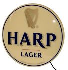 """Harp Lager 20"""" Single Sided Wall Hanging Lightbox - New In Box"""