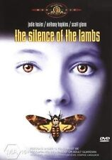 THE SILENCE OF THE LAMBS DVD=JODIE FOSTER-ANTHONY HOPKINS=REGION 4=NEW/SEALED
