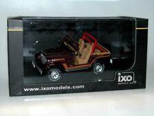 Jeep Cj-7 1995 Brown IXO Model Clc189 1/43 Dark Red Laredo