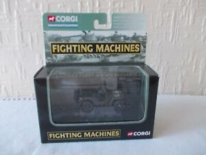 Corgi Fighting Machines Showcase Collection Willlys 4 x 4 Utility Overlord