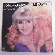 "33 tours Annie CORDY Disque Vinyle LP 12"" OLYMPIA 79 LE KAZOU - CBS 83636"