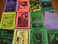Dead Kennedys Repo Concert Flyer Lot  TSOL Butthole Surfers Bad Brains Feederz