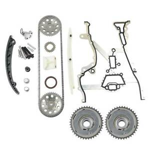 Timing Chain Kit +2x Camshaft Adjuster 55562234 0636304 For Vauxhall X03 1.2 1.4