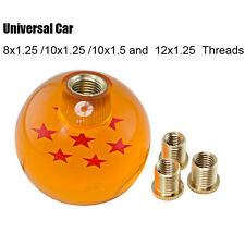 Universal Amber Dragon Ball Z Rare Custom 54mm Shift Knob 7 Star M10x1.5 for MT