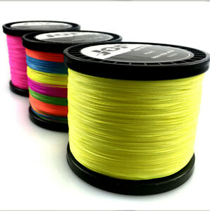 JOF 100M PE Braided Fishing Line 4/8 STRANDS Strong Multifilament Fishing Line