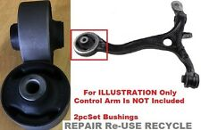2pc BUSHINGS Acura TSX 2009 2010 2011 2012 2013 2014 FRONT LOWER CONTROL ARM