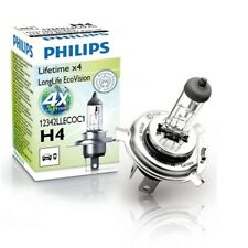 PHILIPS LongLife EcoVision H4 12V 60/55W P43t-38 Glühlampe - 12342LLECOC1