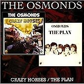 Crazy Horses / The Plan, The Osmonds, Audio CD, New, FREE & FAST Delivery