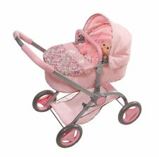 Baby Annabell Zapf Pink 2 In 1 Childs Girls Dolls Pram ~ Lay-By Welcome ~