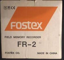 (NEW) Fostex FR-2 Compact 24bit 192kHz Pro Digital Field Recorder