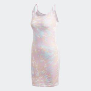 Adidas Women's Tank Dress, Multicolor / White / True Pink / Vapour Blue