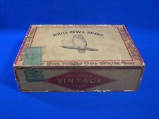 White Owl Brand Cigar Box 5 Cent