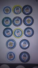 Boy scouts bottle cap magnets boy scout cupcake toppers refrigerator locker gift