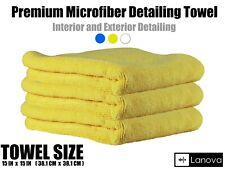 Microfiber Cleaning Cloth Towel Rag Premium Car Polishing No Scratch Detailing