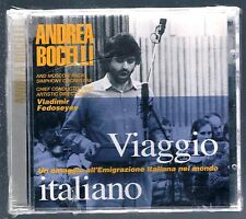 Andrea Bocelli Italian Journey CD OOP Dry Stamp Sealed!!!