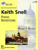 Keith Snell Piano Repertoire: Baroque & Classical - Level 4 GP604