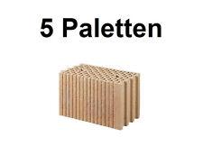 5 Pal. Planziegel POROTON-T (24 cm) 12/0,9 Ziegelstein Planstein Mauerwerk