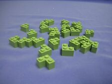 Lot of 25 Lego Sand Green Brick 2x2 Corner 3450 Statue of Liberty 7194 Yoda