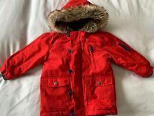 Boys Red Coat NEXT 18-24mths Ex Con