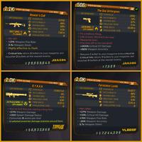 PC - Borderlands 3 BL3 - MODDED Legendary Guns Pack, Get All 4 For Only 4$!