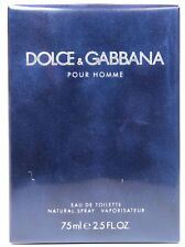 Dolce & Gabanna Pour Homme  By D&G 2.5oz Edt Spray For Men New In Box