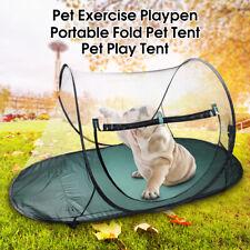 Portable Pet Dog Cat Outdoor Folding Tent Camping Mesh Playpen Fun Carry bag !