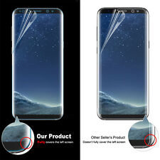 Galaxy S8 S8 Plus Case Friendly Full Screen Protector Film+TPU Cover For Samsung