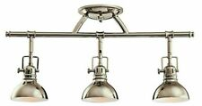 Kichler Lighting Three Light Fixed Rail Polished Nickel Finish 7050PN