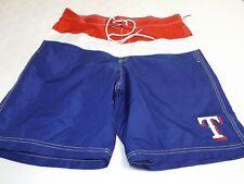 Texas Rangers MLB Lined Men's Swimsuit, Board Shorts, BRAND NEW!
