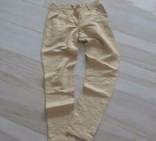 Italy Beige Formal Elegant Workwear designs Evening Pants Trousers Beige M