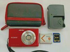 Sony Cyber-shot DSC-W330 14.1MP Digital Camera, Charger, Case, Memory Card