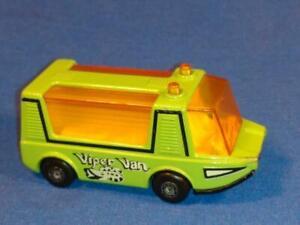 1971 Matchbox Super Fast #46, Green Viper Van Stretcha Fetcha, Gently Used!