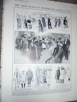Christmas in Switzerland by Reginald Cleaver 1910 print ref AN
