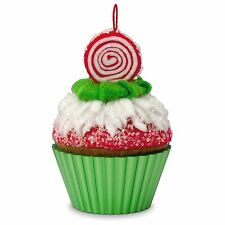 Hallmark 2016 Peppermint Swirl Christmas Cupcakes Series Ornament