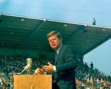 President John F. Kennedy gives address in Tacoma Washington New 8x10 Photo
