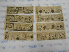 Lot of 8 Moon Mullins by Willard Daily Comic Strips July 23rd-31st, 1945