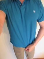 Original Penguin by Munsingwear Casual Polo Shirt M L XL Blue Brown Black