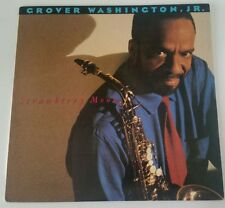 Grover Washington Jr Strawberry Moon 1987 Columbia Records LP Jazz Funk/Soul